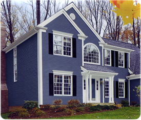 Foam Backed Insulated Siding Color Combination Samples